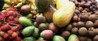 Перед покупкой фруктов на рынке
