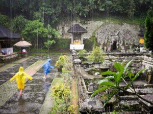 В декабре в южной части Бали увеличивается частота ливней