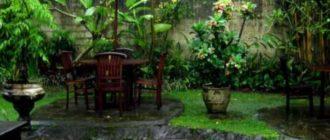 Суточная периодичность дождей