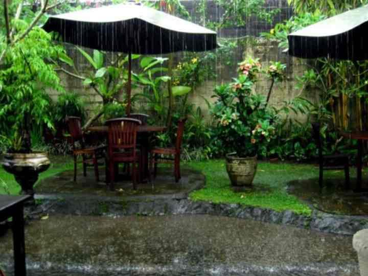 Когда начинается сезон дождей на Бали