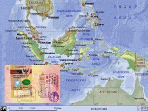 VOA - индонезийская виза по прилёту