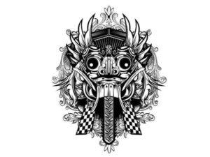 На Бали ее боятся, потому что она несет разрушение и смерть; она ненасытна и постоянно требует новых жертв.
