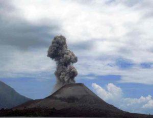 один из действующих вулканов